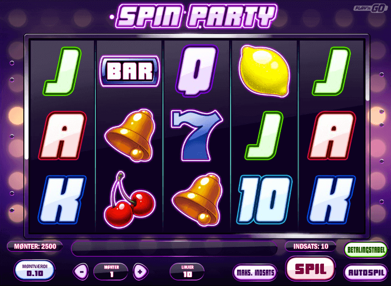 Spin Party Free spins