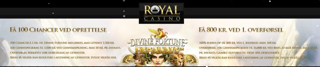 Royal Casino bonuskode